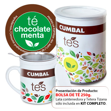 TÉ CHOCOLATE MENTA